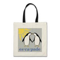 Escapade Logo Budget Tote Bag
