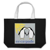Escapade Logo Tiny Tote Bag